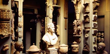 Soane Museum, la caverne d'Ali Baba