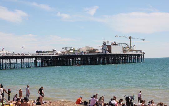 Prendre l'air marin à Brighton